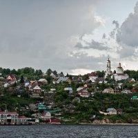 Ключищи на берегу Волги :: Владимир Новиков