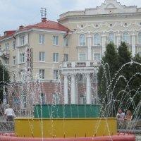 г. Полоцк, площадь Ф.Скорины, гостиница Двина :: Наталья