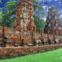Аютайя (исторический город ,Тайланд) :: Евгений Подложнюк