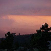 Летний Шерегеш, закат :: Алексей Сотников