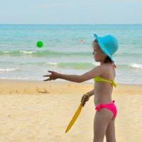 море, воздух и песок - что еще надо для активного отдыха! :: Мария Климова