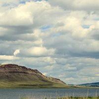 небо, озеро и горы :: Лена Петрова