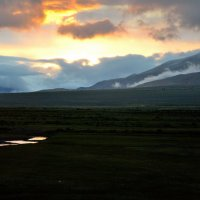 Закат в Кош-Агаче :: Алексей Тырышкин