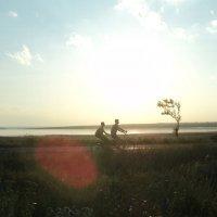 двое на одном велосипеде :: nat купр