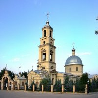 Церковь Святой Троицы (1806 г.) в селе Екатериновка Самарской Губернии :: Денис Кораблёв