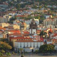 Собор и город. Фуншал, Мадейра, Португалия :: photobeginner khomyakov