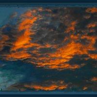 Небесные пожарище ничем не погасить!!!!!!...Ты любишь на закат смотреть.... :: Людмила Богданова (Скачко)