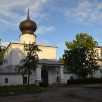 Церковь Успения с Парома.Псков :: Наталья Левина