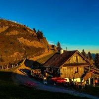 Домик в горах. :: Zifa Dimitrieva