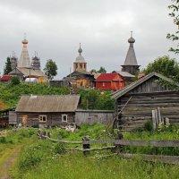 Русский Север. Село Нёнакса. Тропа к храмам :: Владимир Шибинский