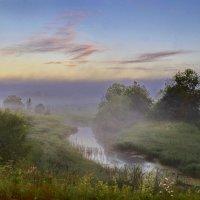 Утренний туман :: Валерий Талашов