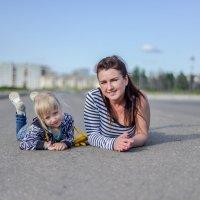 С мамой :: Александр