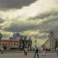 Тучи над Новосибирском :: Татьяна Степанова