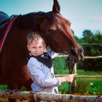 любовь к лошадям - это сильно! :: Олька Никулочкина