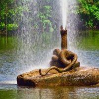"""фонтан """"змея"""" :: юрий иванов"""