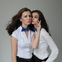 Оксана и Даша :: Ольга Дитрих