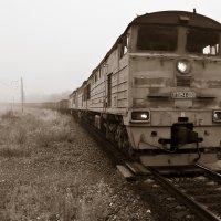 Поезд - призрак... :: Сергей Щелкунов