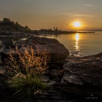 Золотые закаты на Байкале :: Павел Федоров