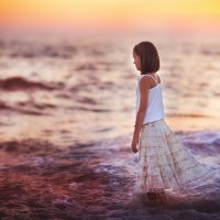в море :: Анастасия Крылова