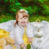 Старшая доченька :: Анастасия Кочеткова