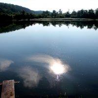 раннее утро на реке Чулым :: Арина Овчинникова