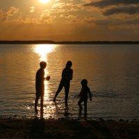 В лучах закатного солнца :: галина северинова