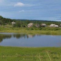 Голубое озеро... :: Владимир Хиль