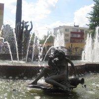 Городской фонтан :: Елена Семигина