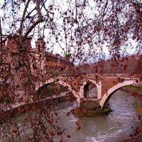 Мост через р.Тибр :: Александр Шихин