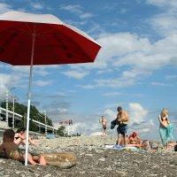 Лето. Пляж. :: Larisa Gavlovskaya