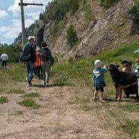 Туристы и местные жители. :: Валерий Молоток
