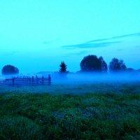 Синий туман.... :: Геннадий Ячменев