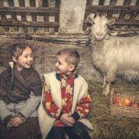 деревенская история :: Evgeniya