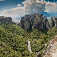 Греция Метеоры :: юрий макаров
