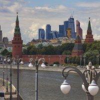 Москва Сити &  Москва Фонарь :: M Marikfoto