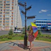 Девочка с Зонтом!!! :: Юрий Стариков