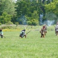 Индейцы тоже участвовали в сражениях... :: Юрий Поляков