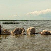 Горизонт и камни. :: Владимир Гилясев