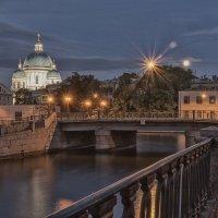 Вид на Троицкий собор с Крюкова канала :: Владимир Демчишин