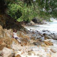 Кота-Кинабалу.  Необитаемый остров Сулуг (фото сына) :: Елена Павлова (Смолова)
