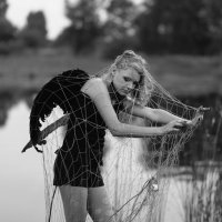 черный ангел :: Evgeniya