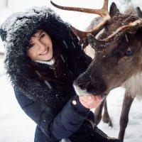 зимний портрет :: Александра Реброва