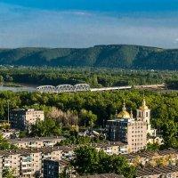 вид с крепостной горы :: Алена Желонкина