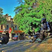Памятник И.Э.Бабелю :: Александр Корчемный