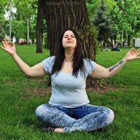 Медитация на природе :: Евгения Ламтюгова