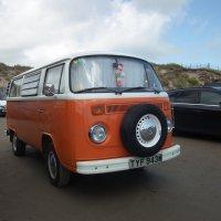Volkswagen camper van :: Natalia Harries