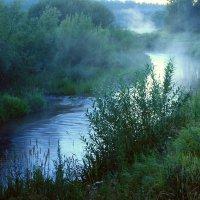 Река и туман :: Людмила Быстрова