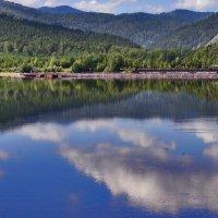 Пейзаж с видом на Енисей :: galina tihonova