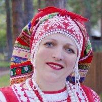 Женщина в духе Кустодиева :: Наталия Григорьева