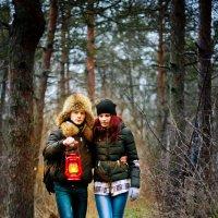 в лесу :: Дарья Агафонова
